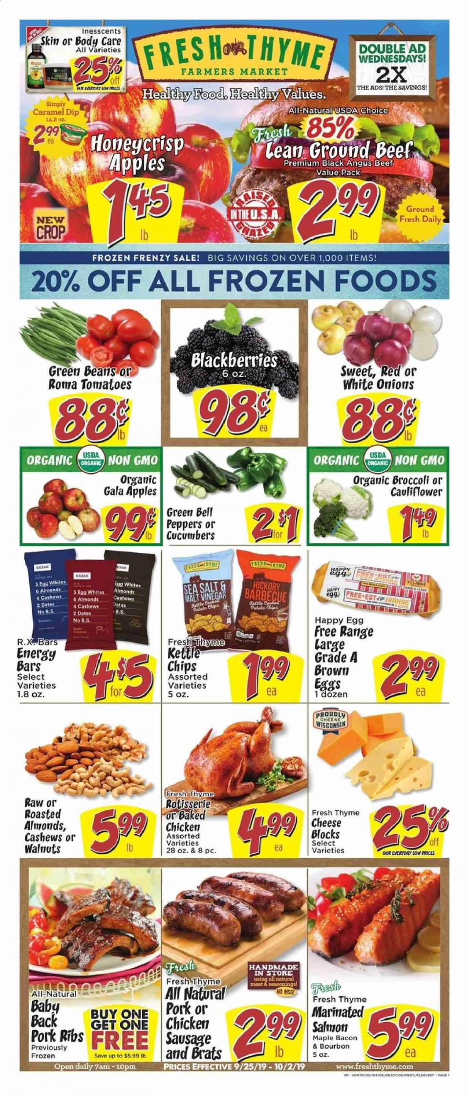 fresh thyme ad sep 25 oct 2 2019