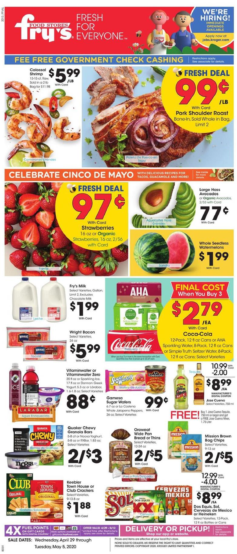 frys weekly ad apr 29 2020
