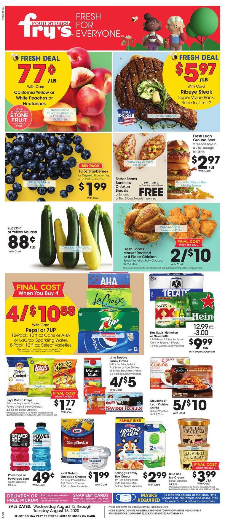 frys august weekly ad valid from aug 12 18 2020