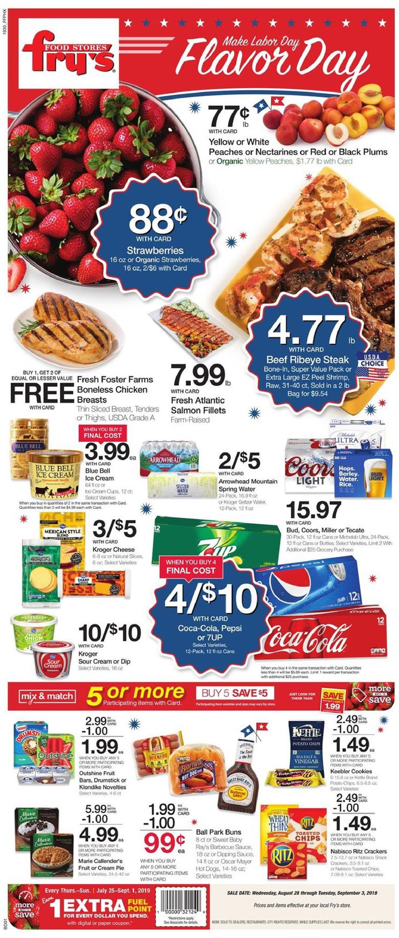 frys weekly ad aug 28 2019