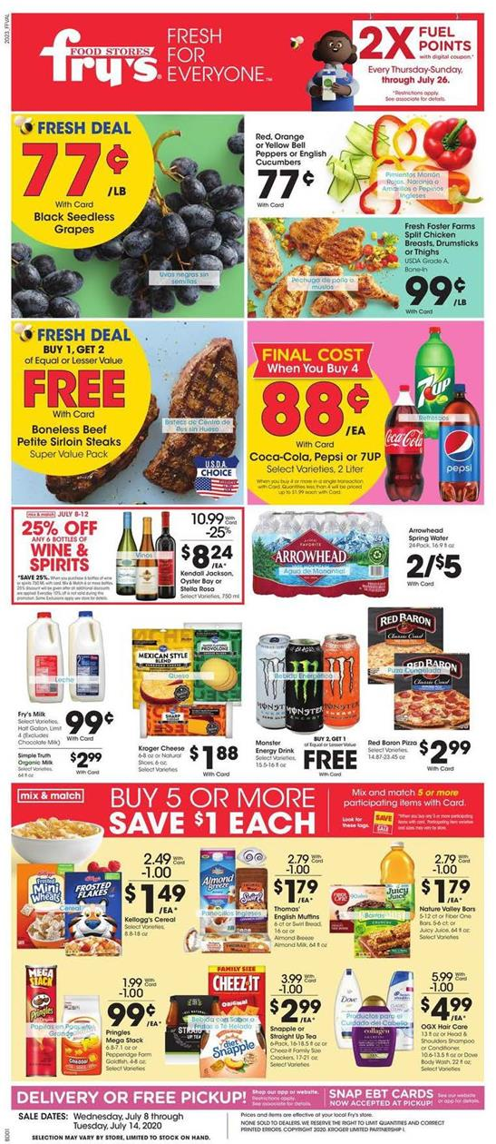 frys july weekly ad valid from jul 8 14 2020