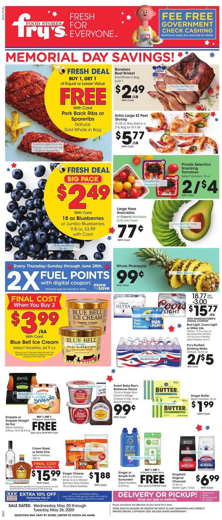 frys weekly ad may 20 2020