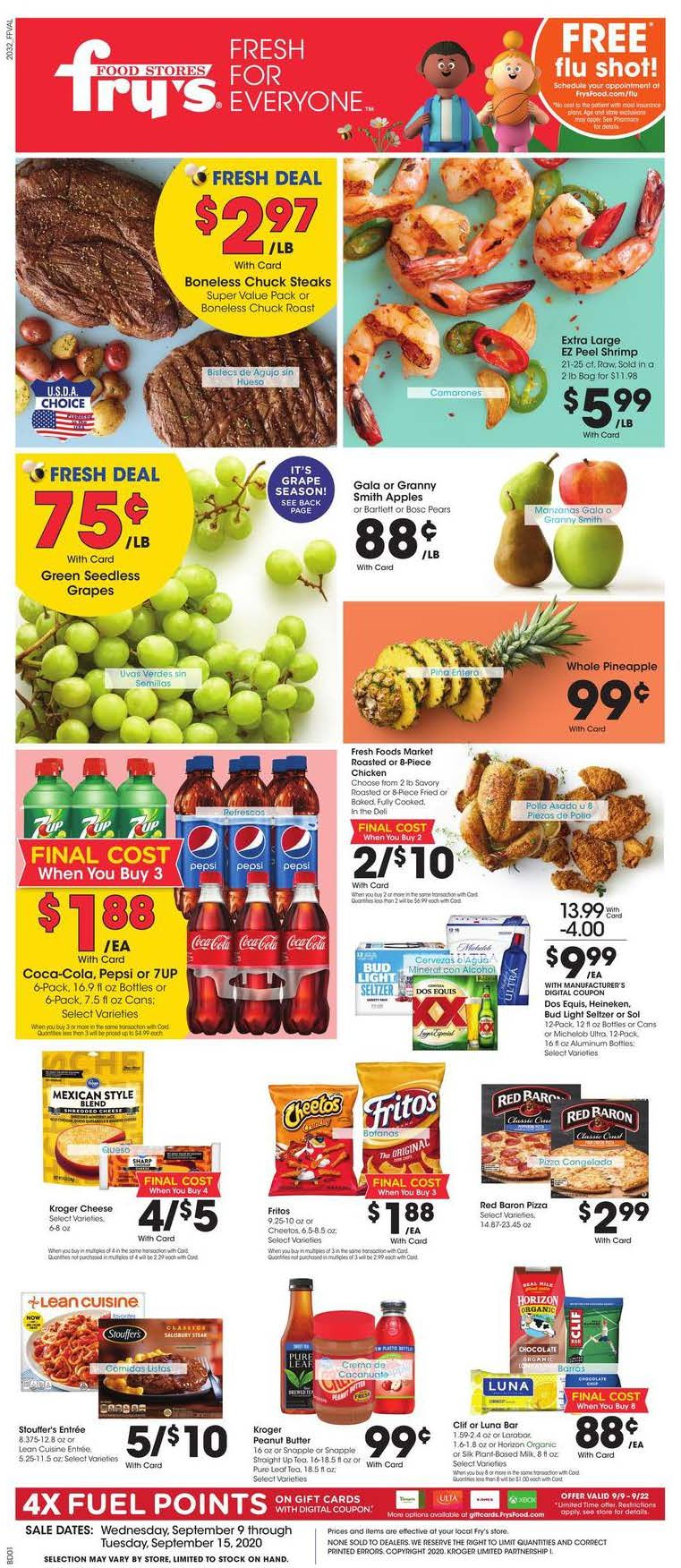 frys weekly ad sep 9 2020