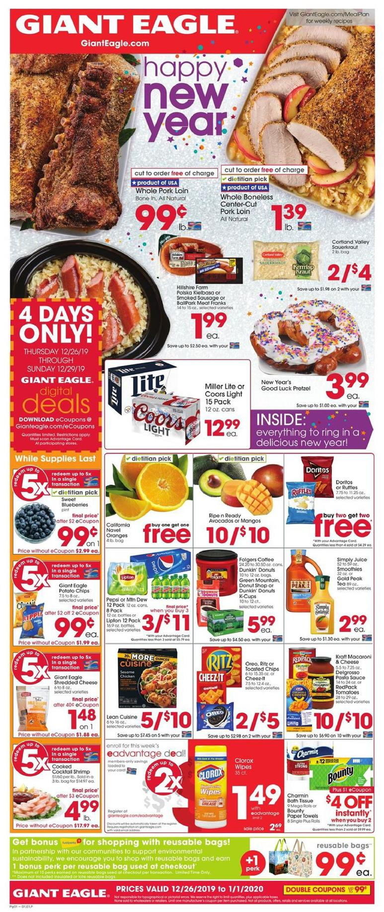 giant eagle new year ad valid from dec 26 to jan 1