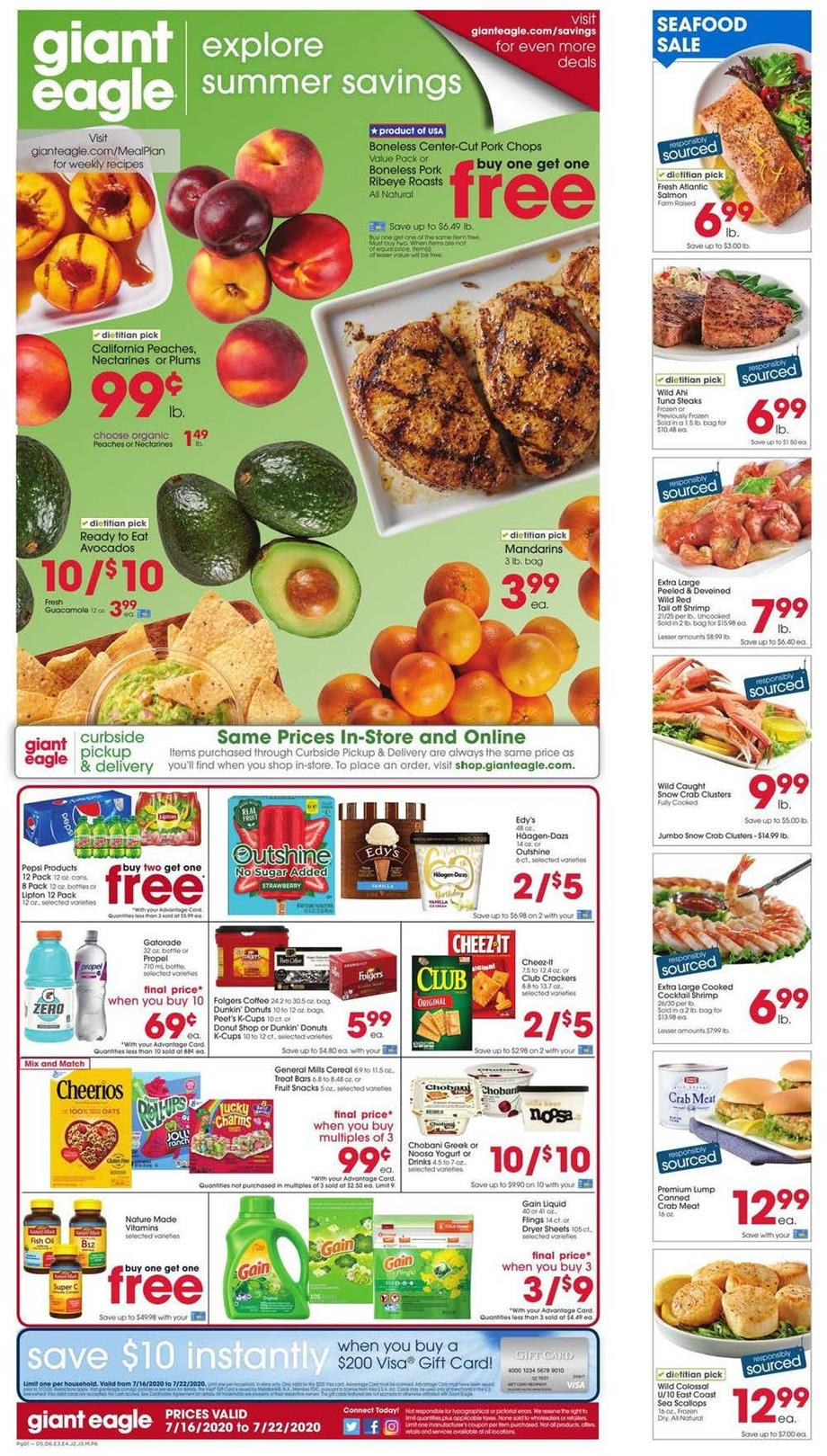 giant eagle mid july weekly ad valid from jun 16 22 2020