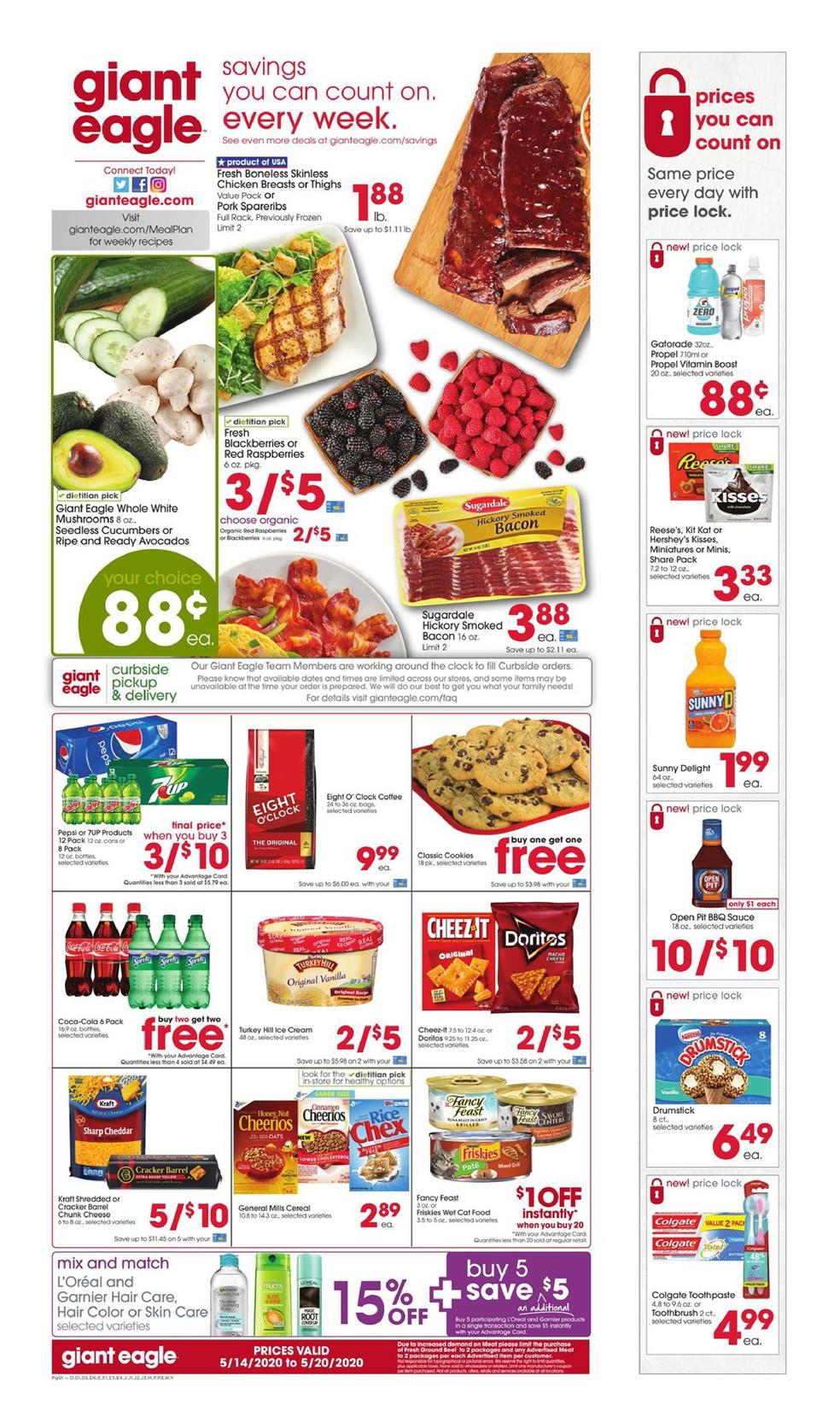 giant eagle ad may 14 2020