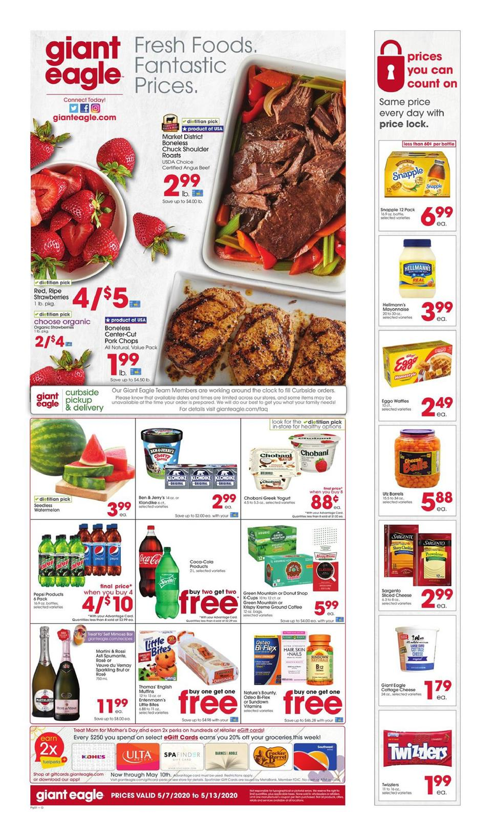 giant eagle ad may 7 2020