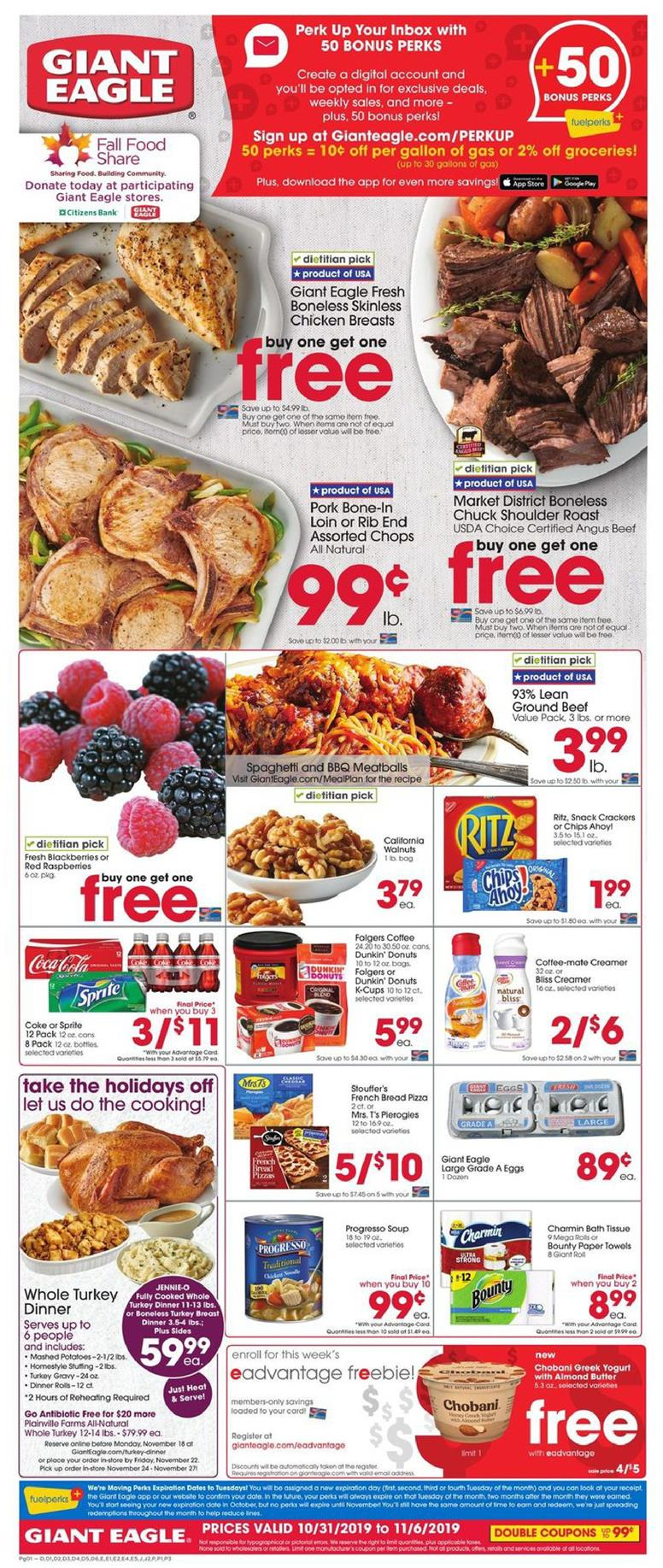 giant eagle fresh produce ad valid from oct 31 nov 6 2019