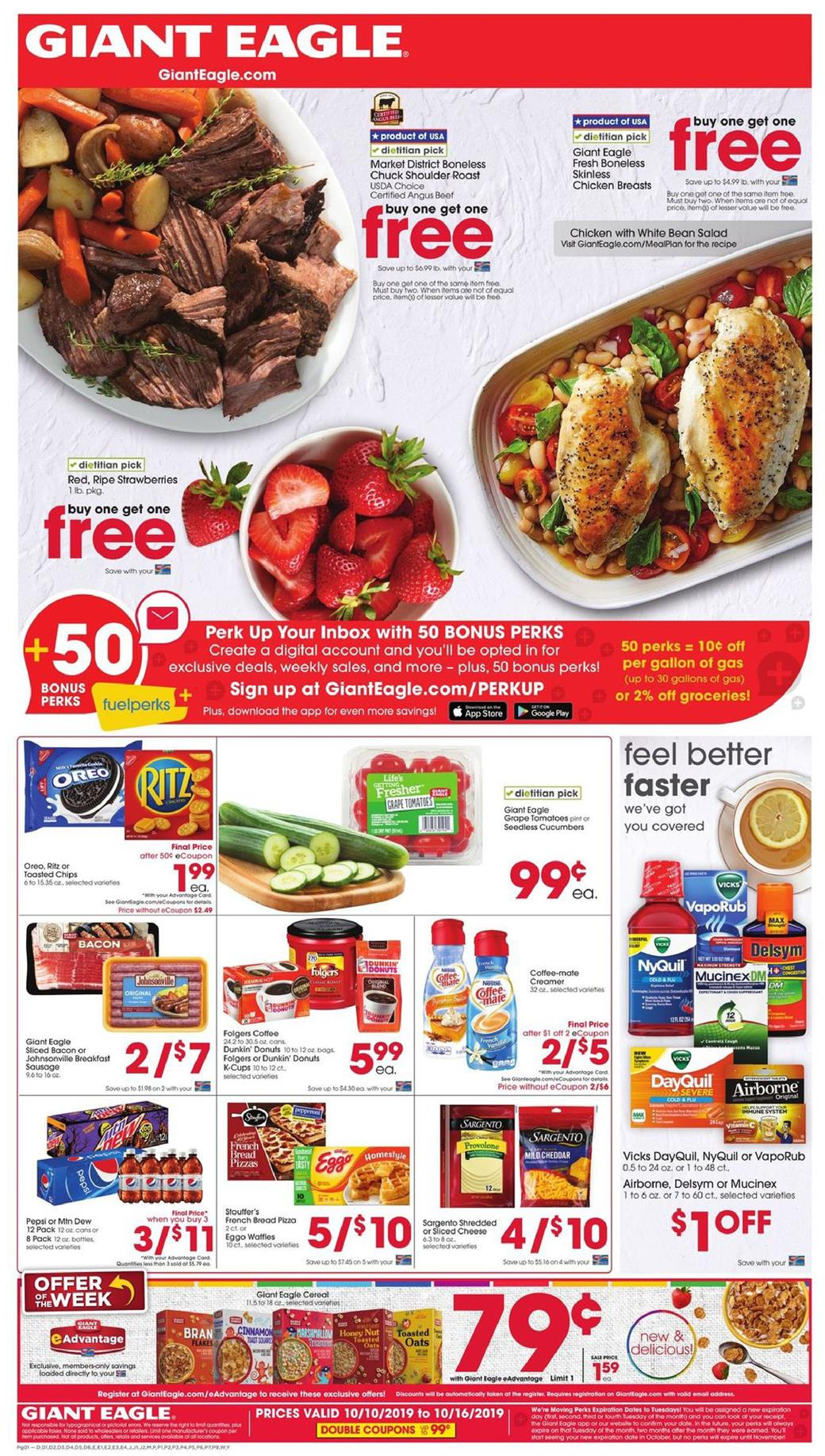 bogos with new giant eagle ad oct 9 15 2019