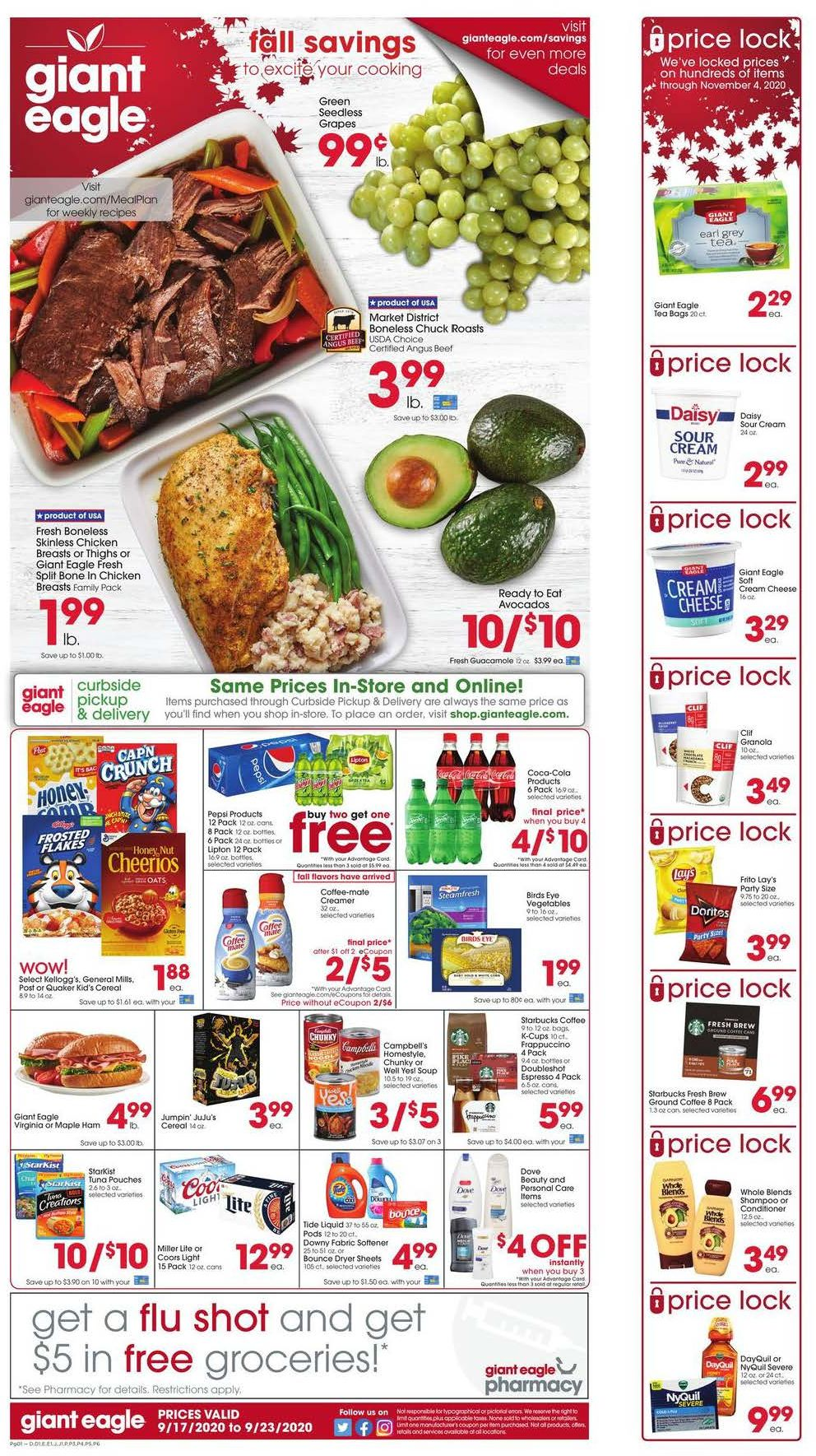 giant eagle ad sep 17 2020