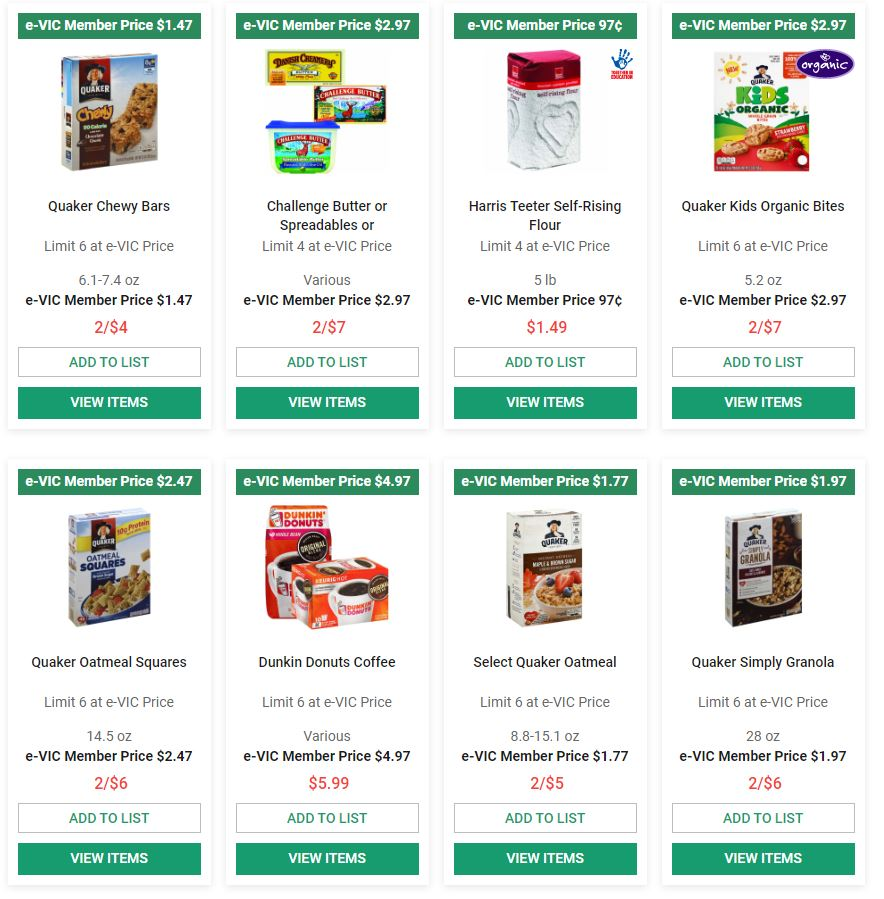 Harris Teeter Final March Ad valid from Mar 25 – 31, 2020