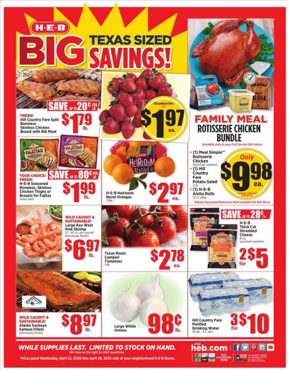 heb final april weekly ad valid from apr 22 28 2020