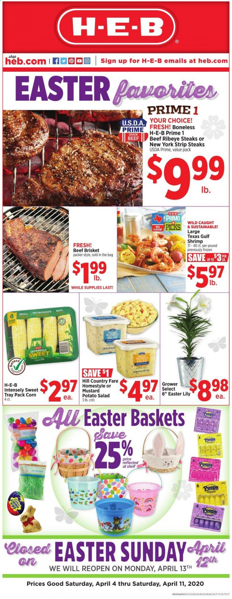 heb weekly mid april ad valid from apr 4 11 2020