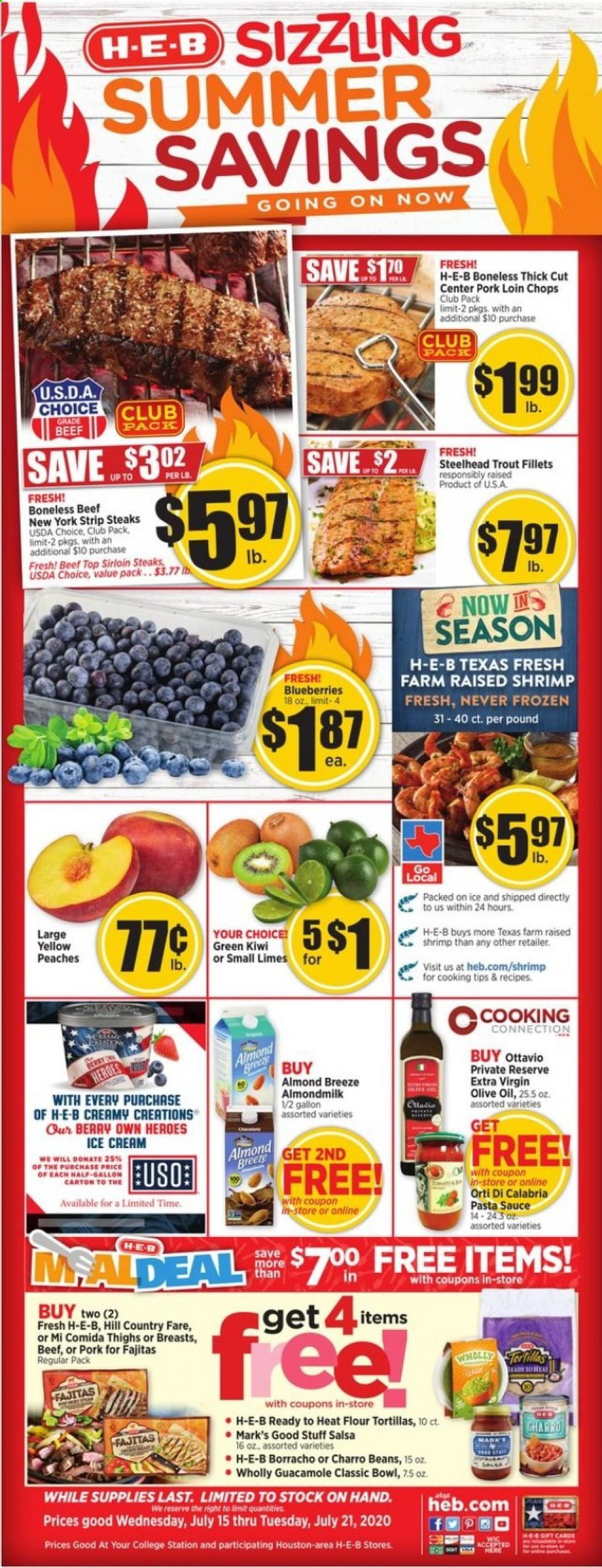 heb mid july weekly ad valid from jul 15 21 2020