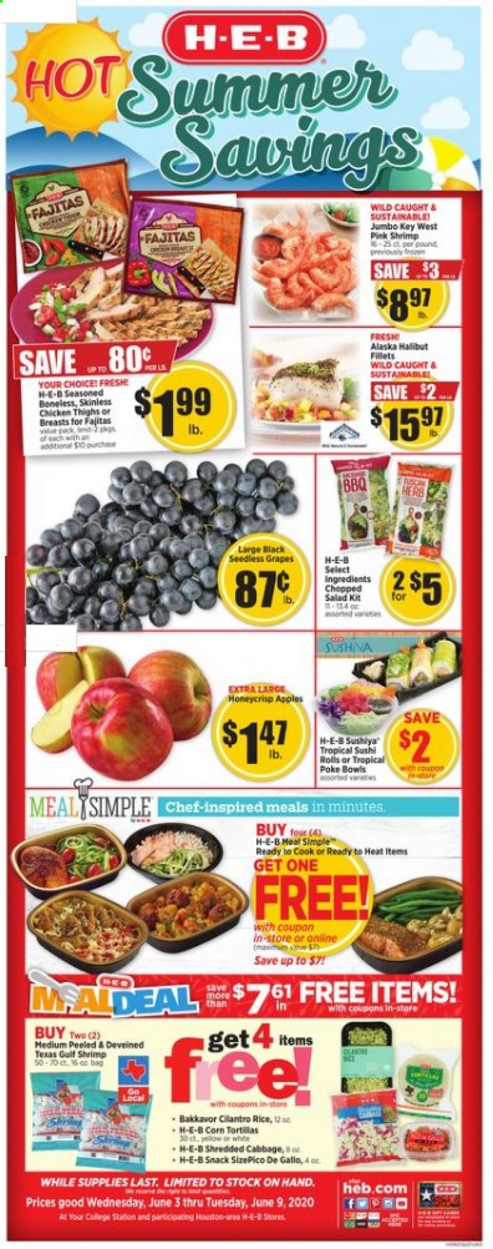 heb june weekly ad valid from jun 3 9 2020