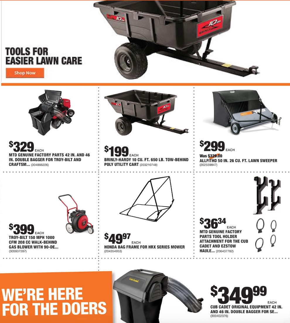 Home Depot Weekly August Ad valid from Aug 6 – 13, 2020