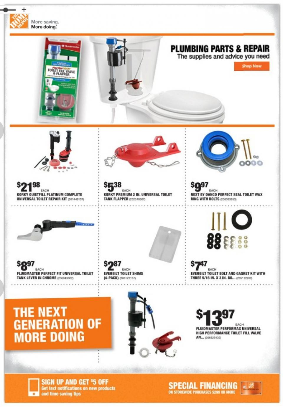 home depot ad oct 24 31 2019