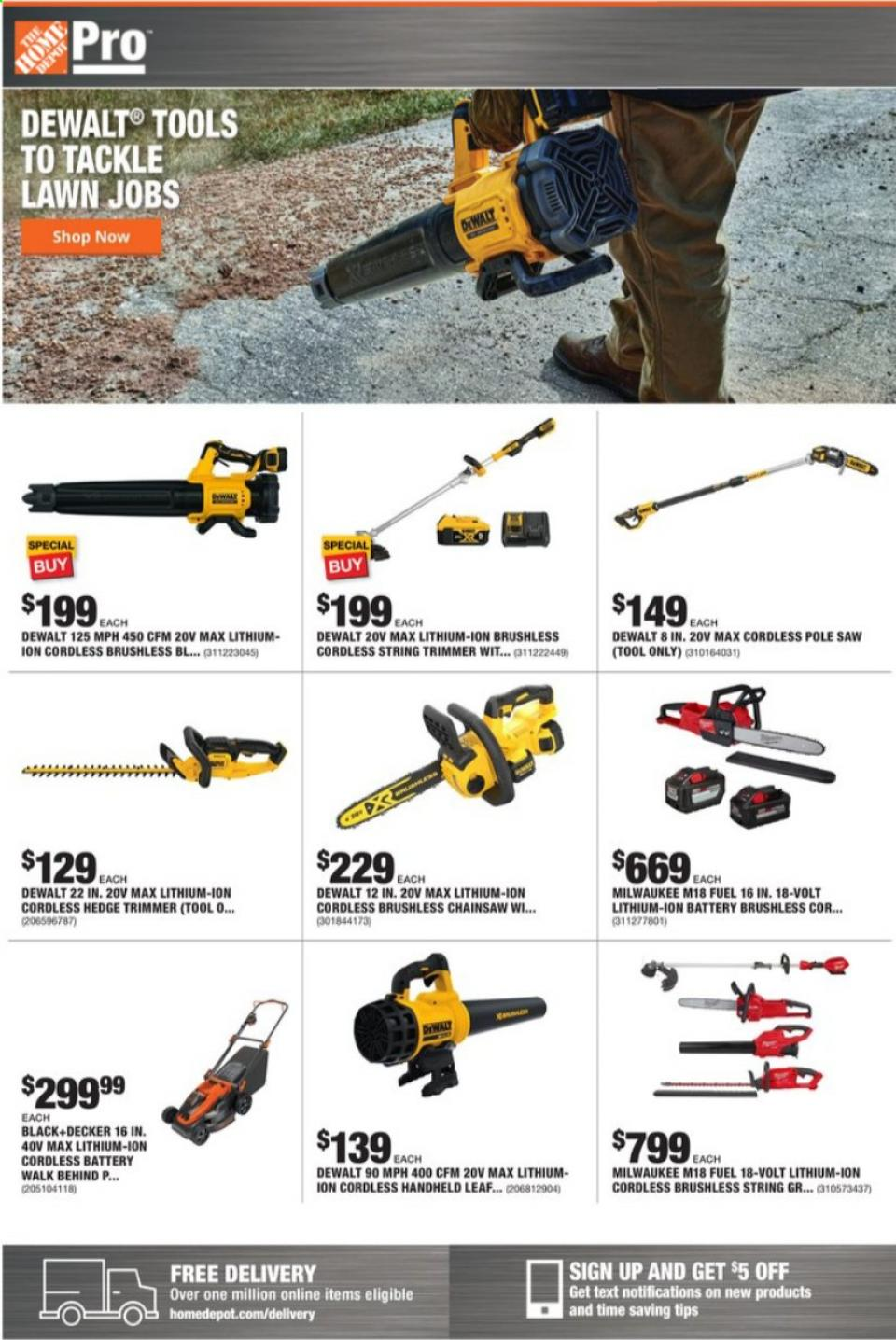 home depot september weekly ad valid from sep 6 12 2020