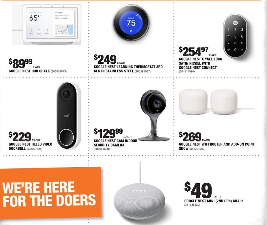 home depot mid september weekly ad valid from sep 10 17 2020