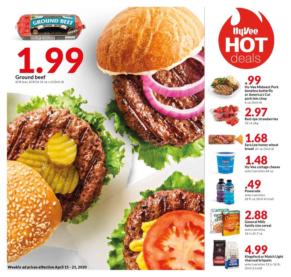 hyvee mid april weekly ad valid from apr 15 21 2020