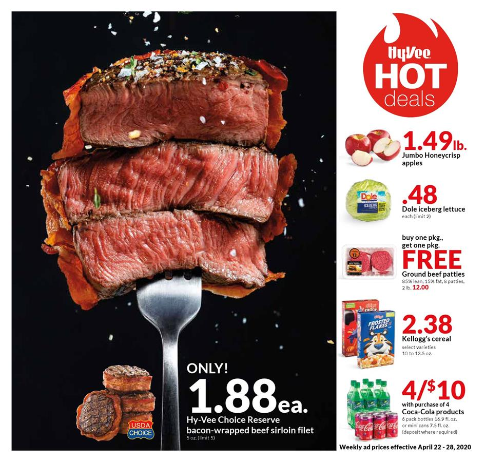 hyvee final april weekly ad valid from apr 22 28 2020