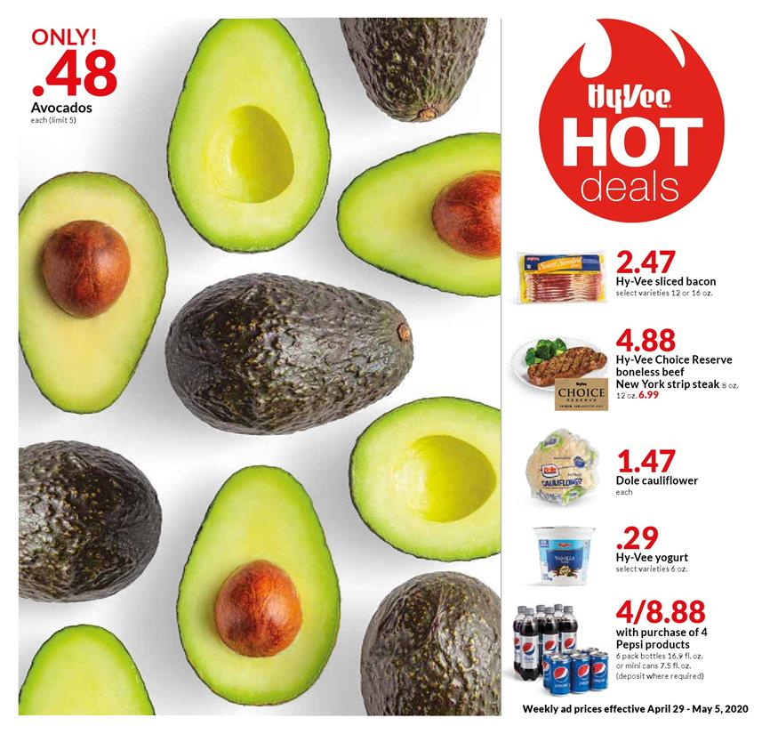 hy vee may weekly ad valid from apr 29 may 5 2020