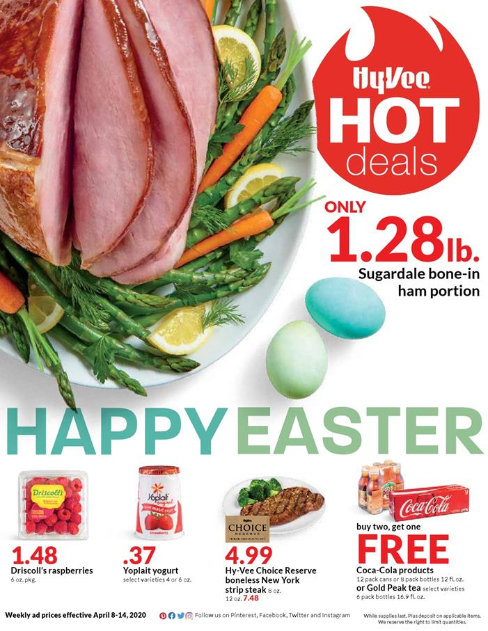 hyvee mid april weekly ad valid from apr 8 14 2020