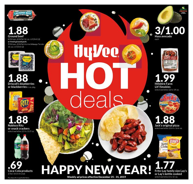 hyvee new year weekly ad valid from dec 25 31 2019