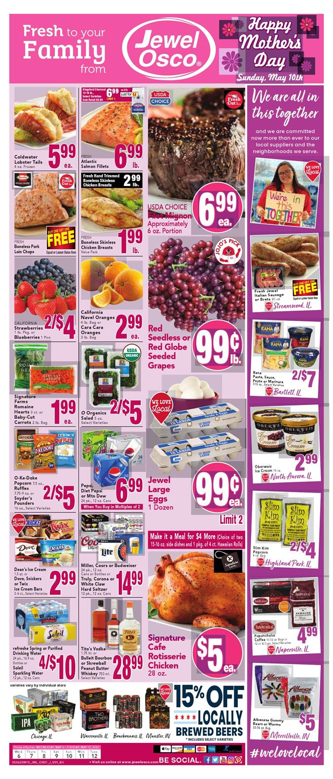 jewel osco ad may 6 2020