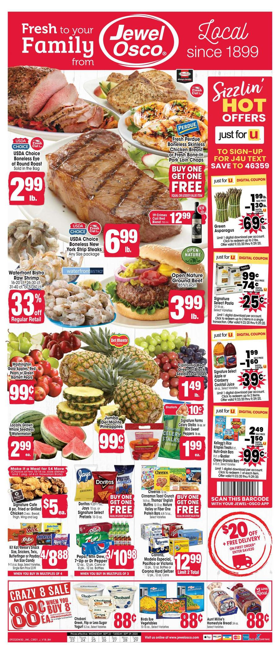 jewel osco final september ad valid from sep 23 29 2020