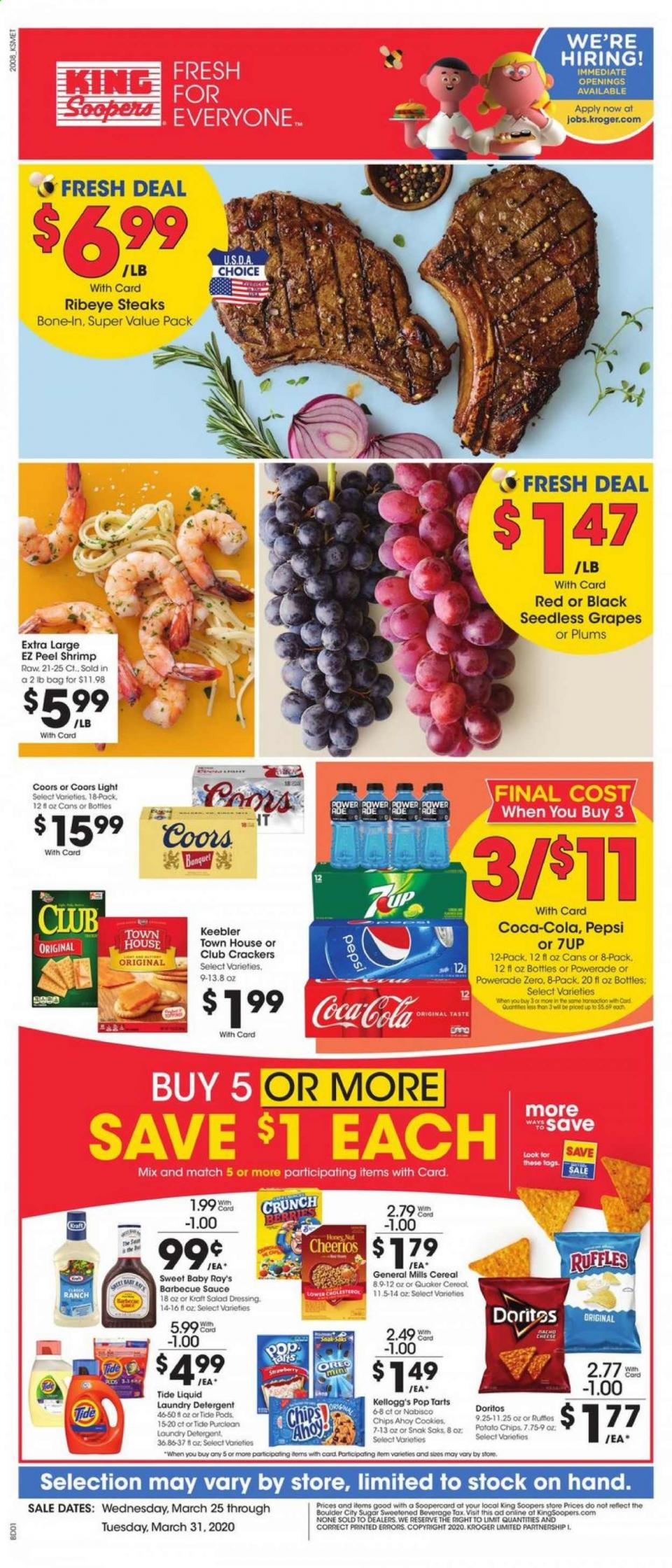 King Soopers Final March Weekly Ad valid from Mar 25 – 31, 2020