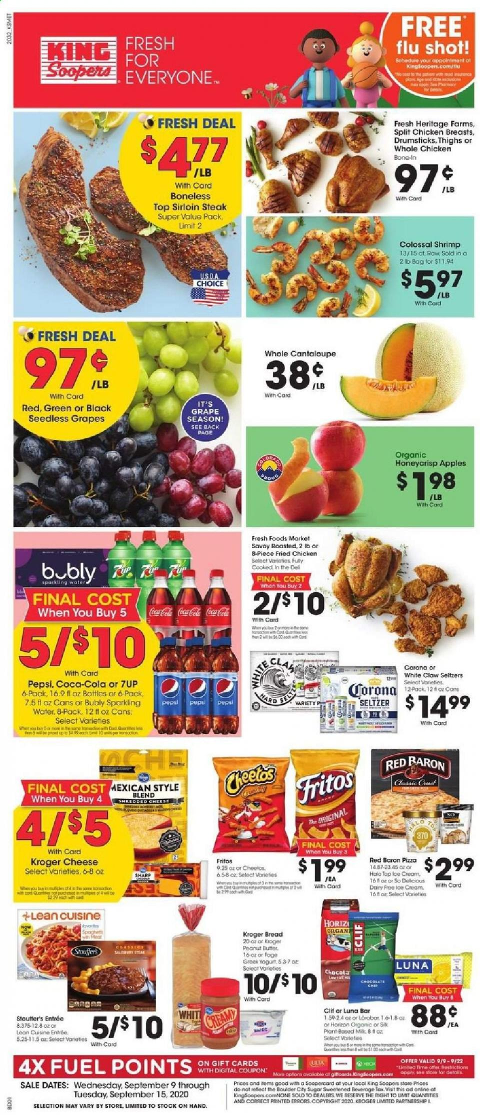 King Soopers Mid-September Weekly Ad valid from Sep 9 – 15, 2020