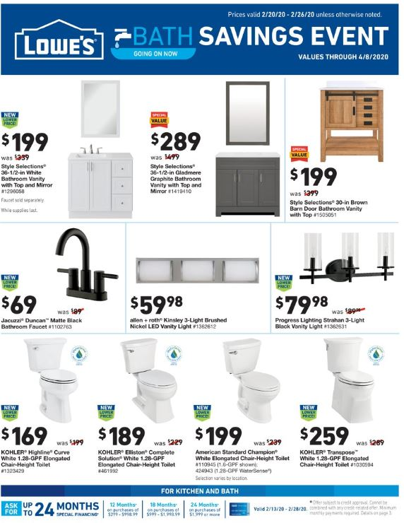 lowes final february weekly ad valid from feb 20 26 2020
