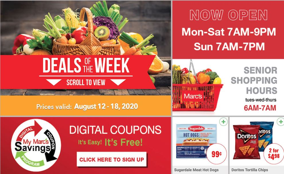 marcs weekly ad aug 12 2020