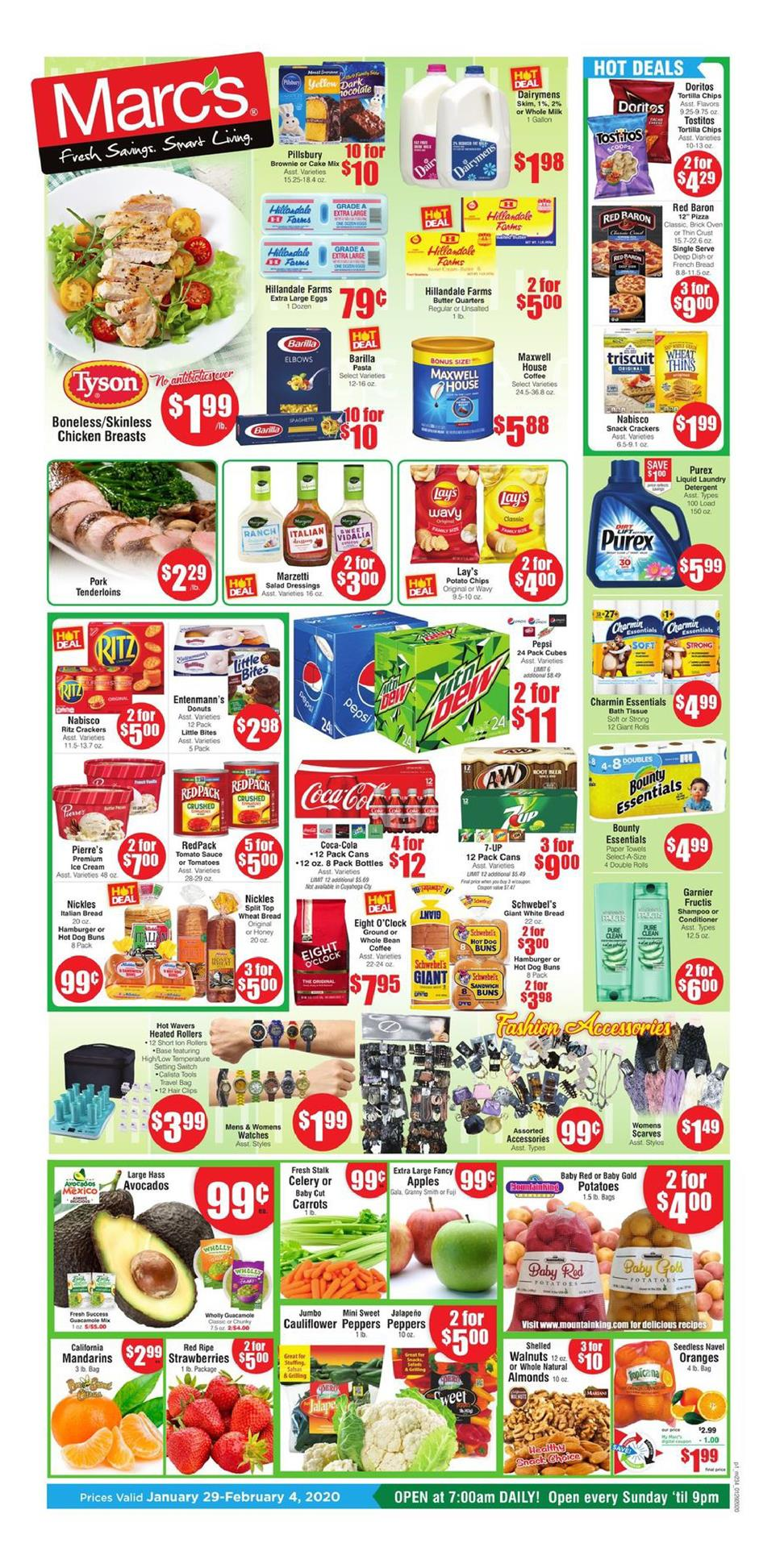 marcs early february weekly ad valid from jan 29 feb 4 2020