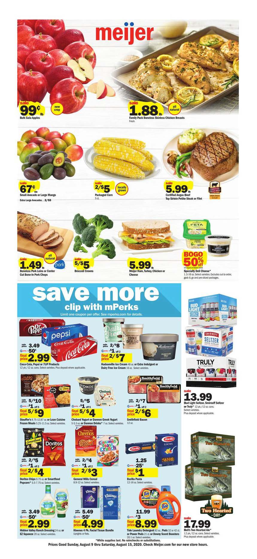 meijer weekly ad aug 9 2020