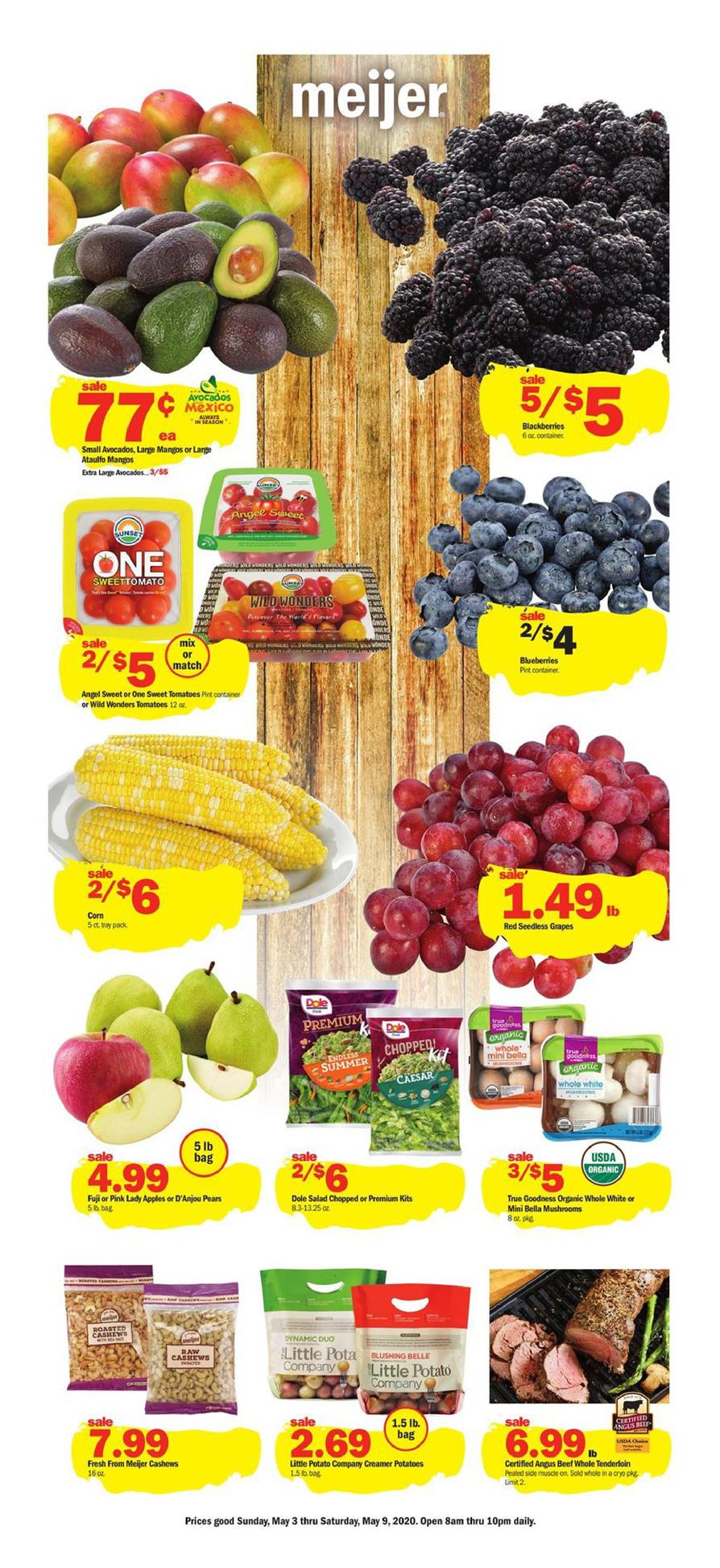 meijer weekly ad may 3 2020