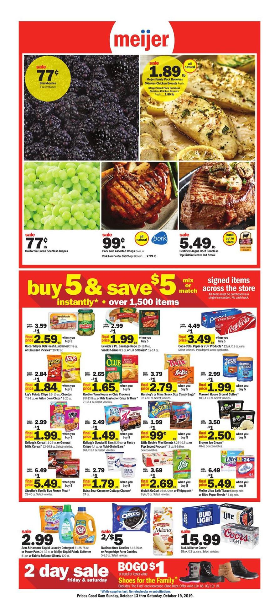 meijer weekly ad oct 13 2019