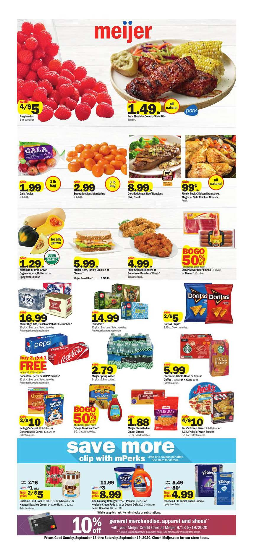 Meijer Weekly September Ad valid from Sep 13 – 19, 2020