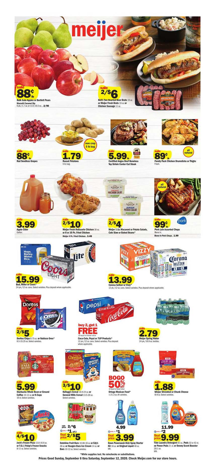 meijer weekly ad sep 6 2020
