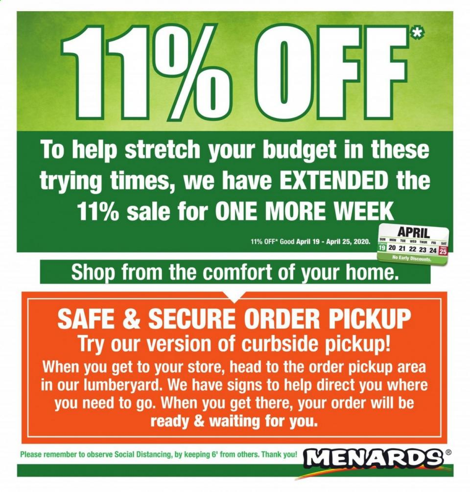 menards ad apr 19 25 2020