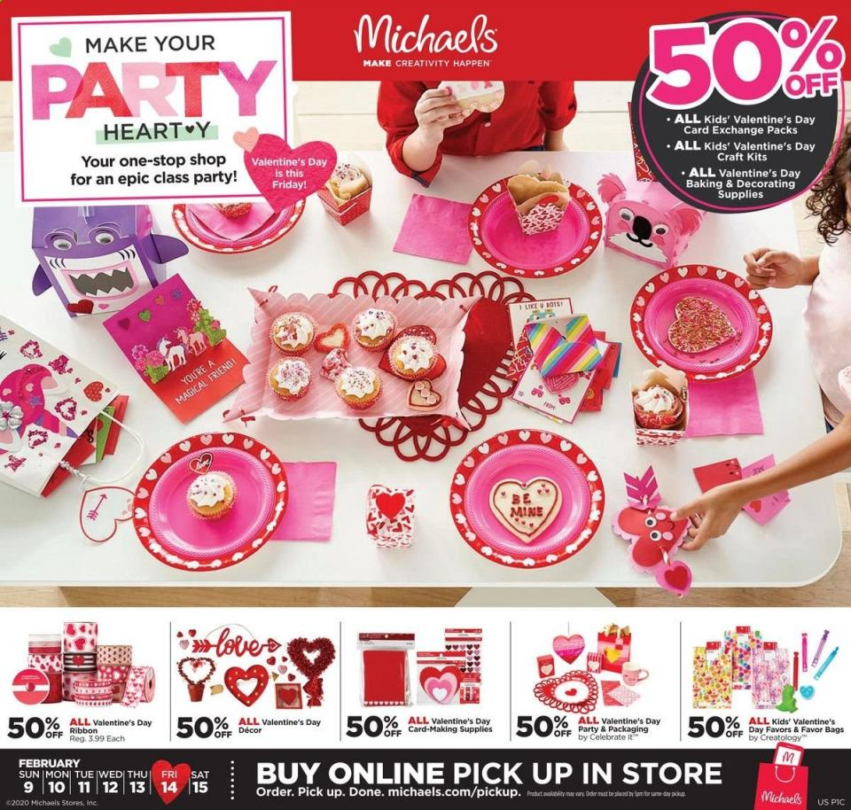 michaels weekly ad feb 9 15 2020