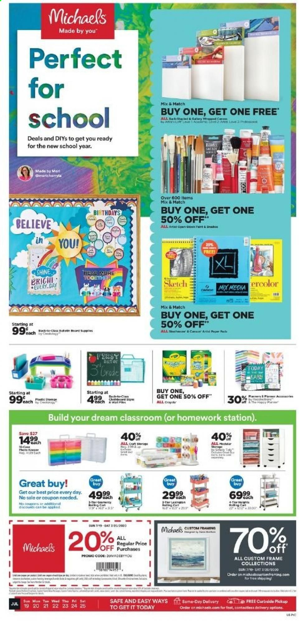 michaels weekly ad jul 19 2020