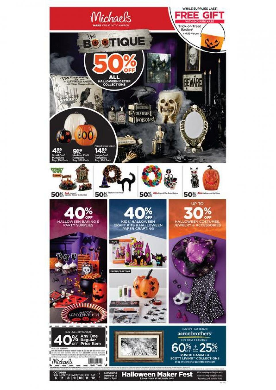 michaels weekly ad oct 6 12 2019