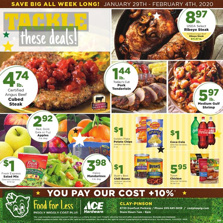 piggly wiggly ad jan 29 2020