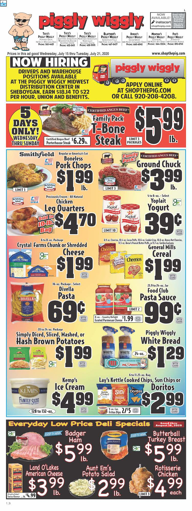 piggly wiggly ad jul 15 2020