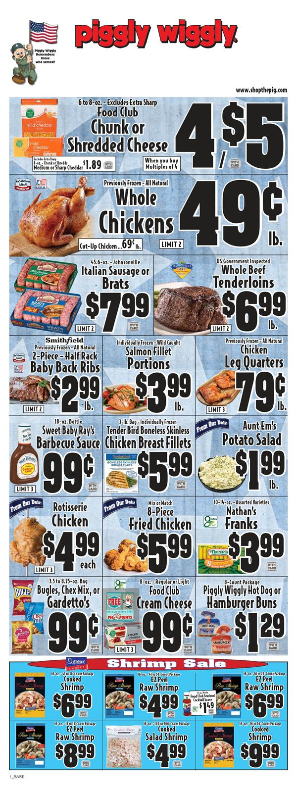 piggly wiggly final may ad valid from may 20 26 2020
