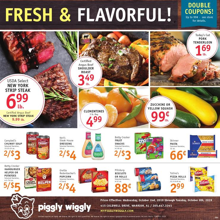 piggly wiggly ad oct 2 2019