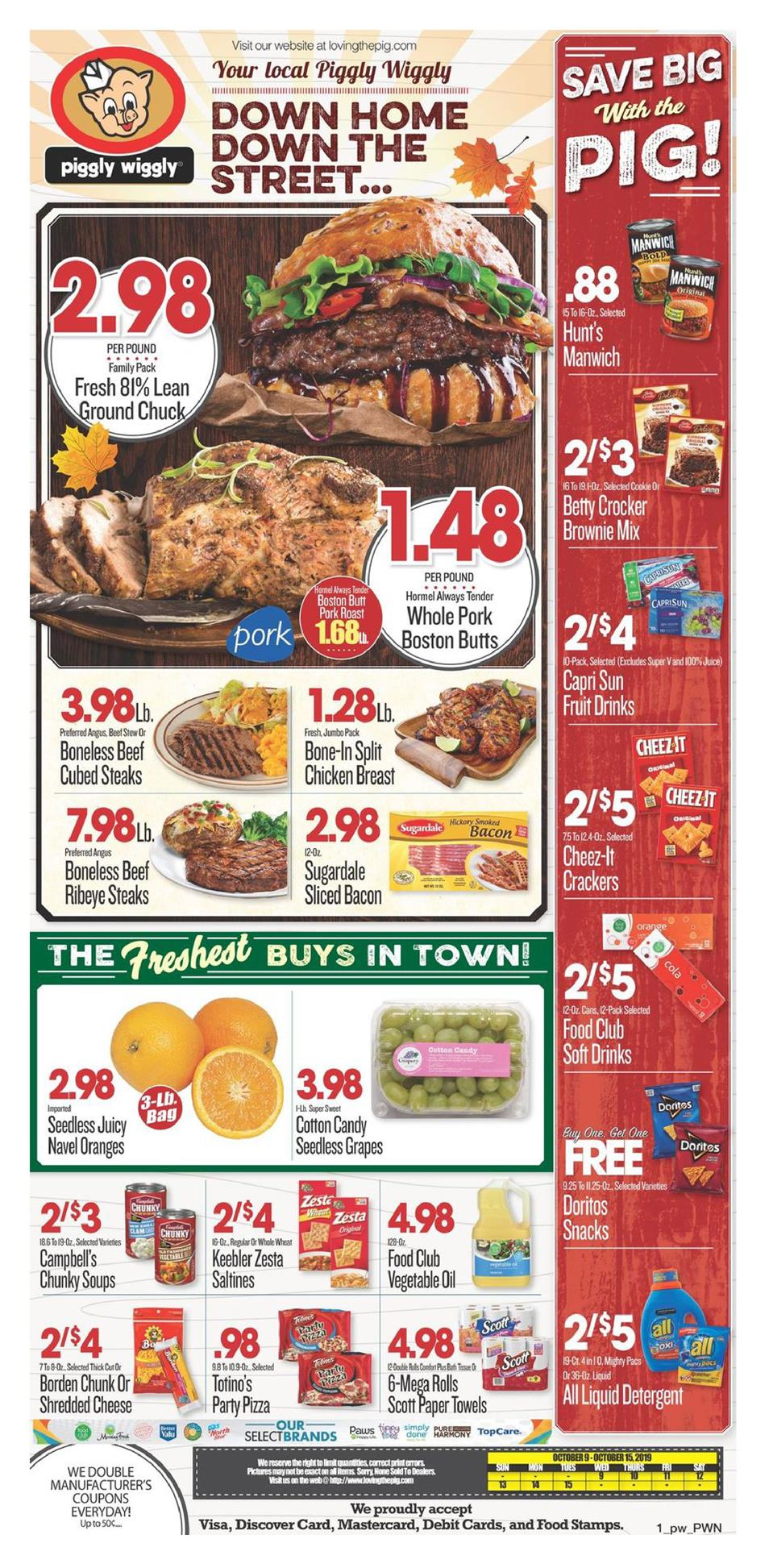 piggly wiggly ad oct 9 2019