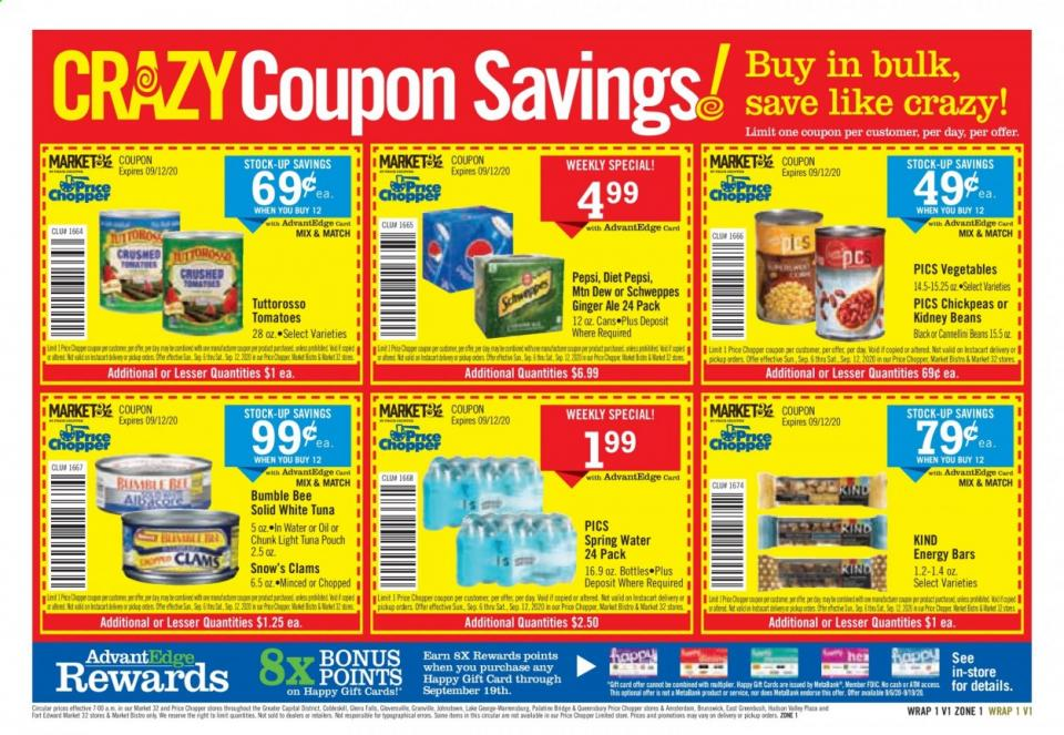 price chopper september weekly ad valid from sep 6 12 2020